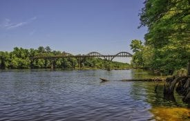 Coosa River near Wetumpka