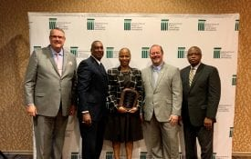 National Extension in Excellence Award Winner and ECOP, USDA and Extension administrators