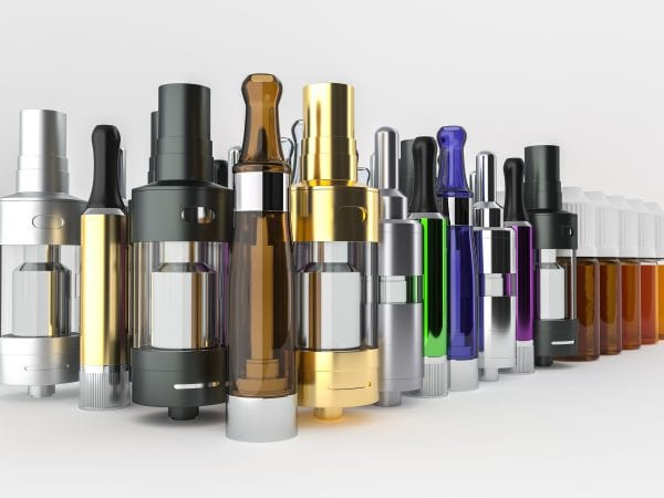 E-cigaretts and vaping