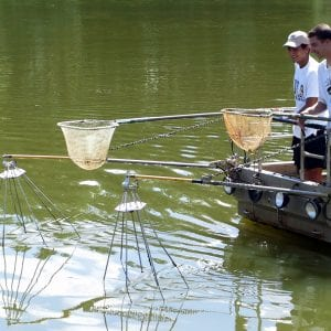 Figure 23. Electrofishing can help improve pond assessment