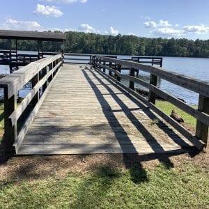 Figure 26. Accessible pier entrance