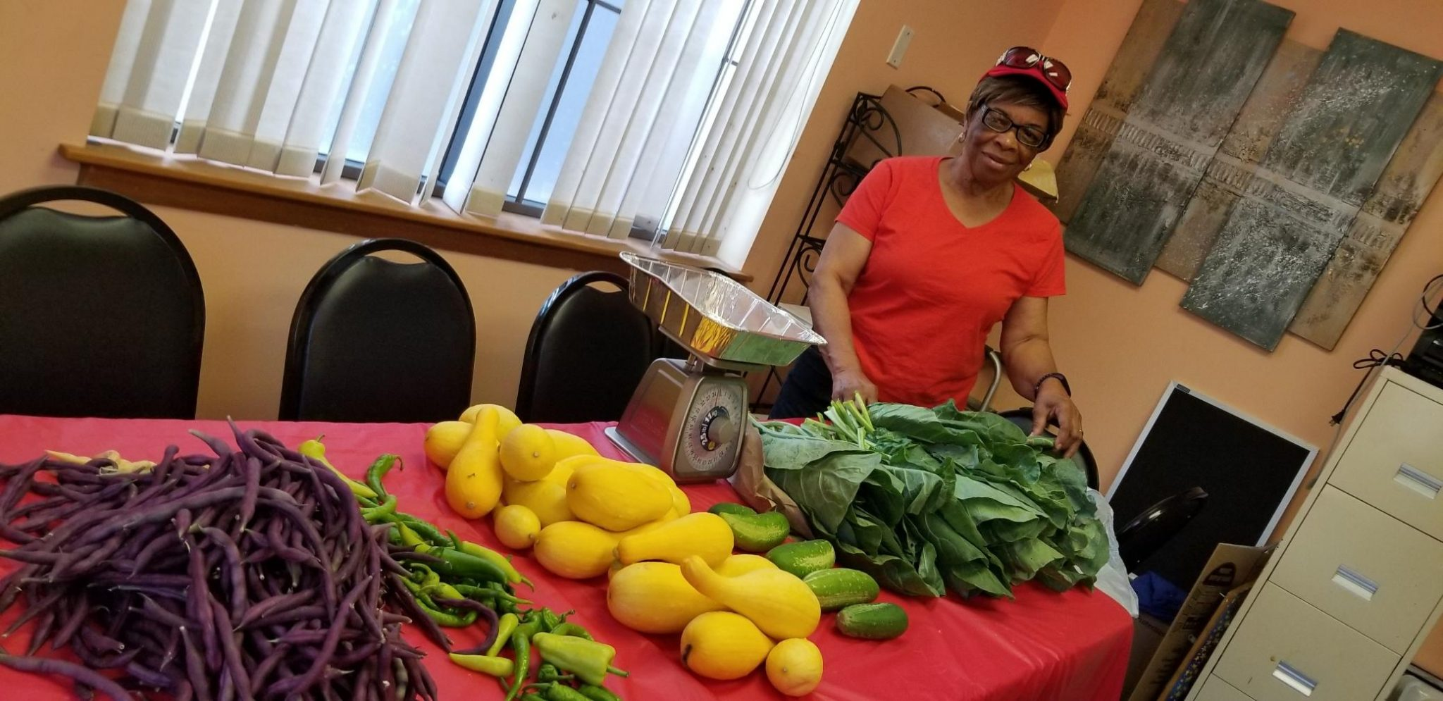 Shirley Cotton, President of Project Full Plate Community Garden