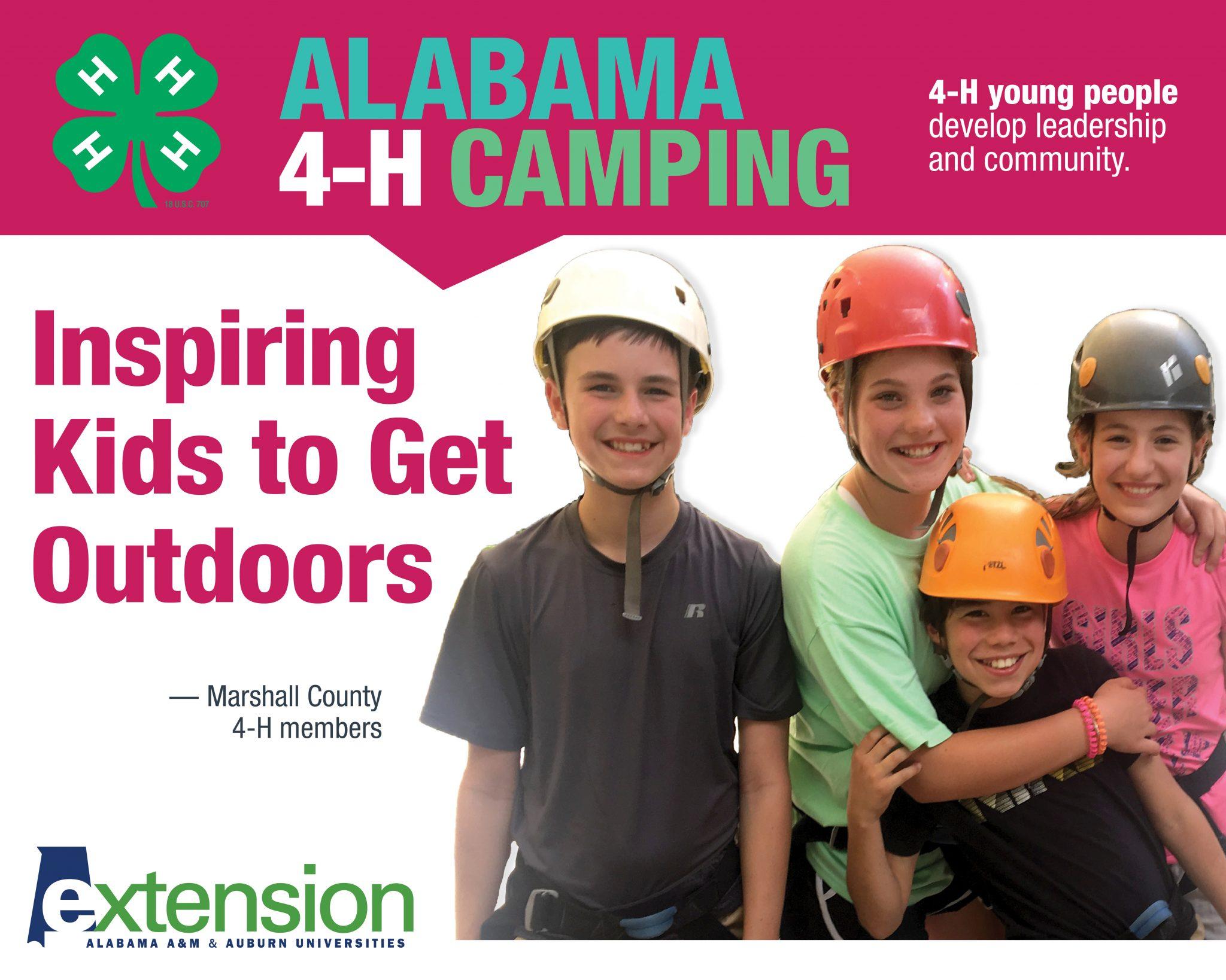 Alabama 4-H Camping
