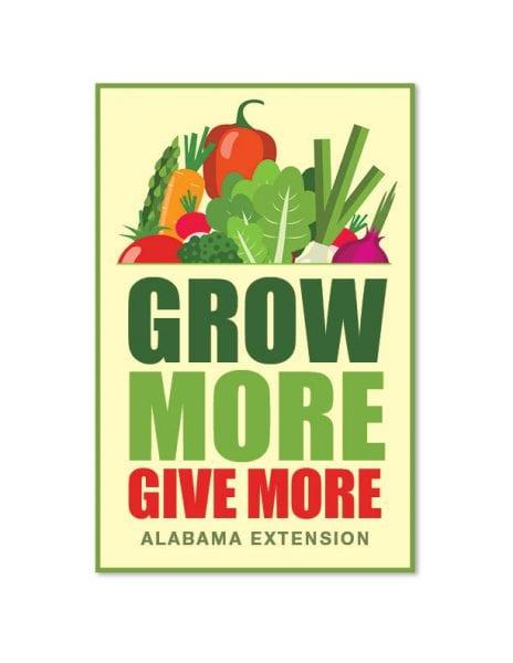 Grow More Give More program wordmark