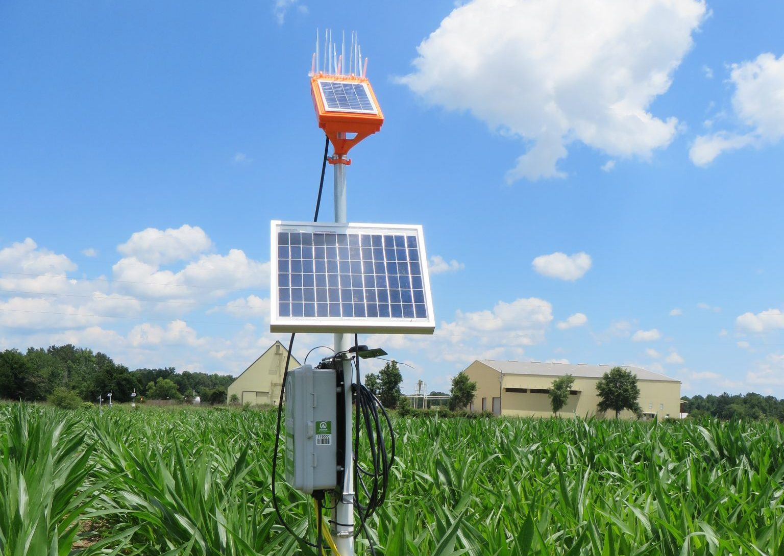 Soil sensors for irrigation scheduling