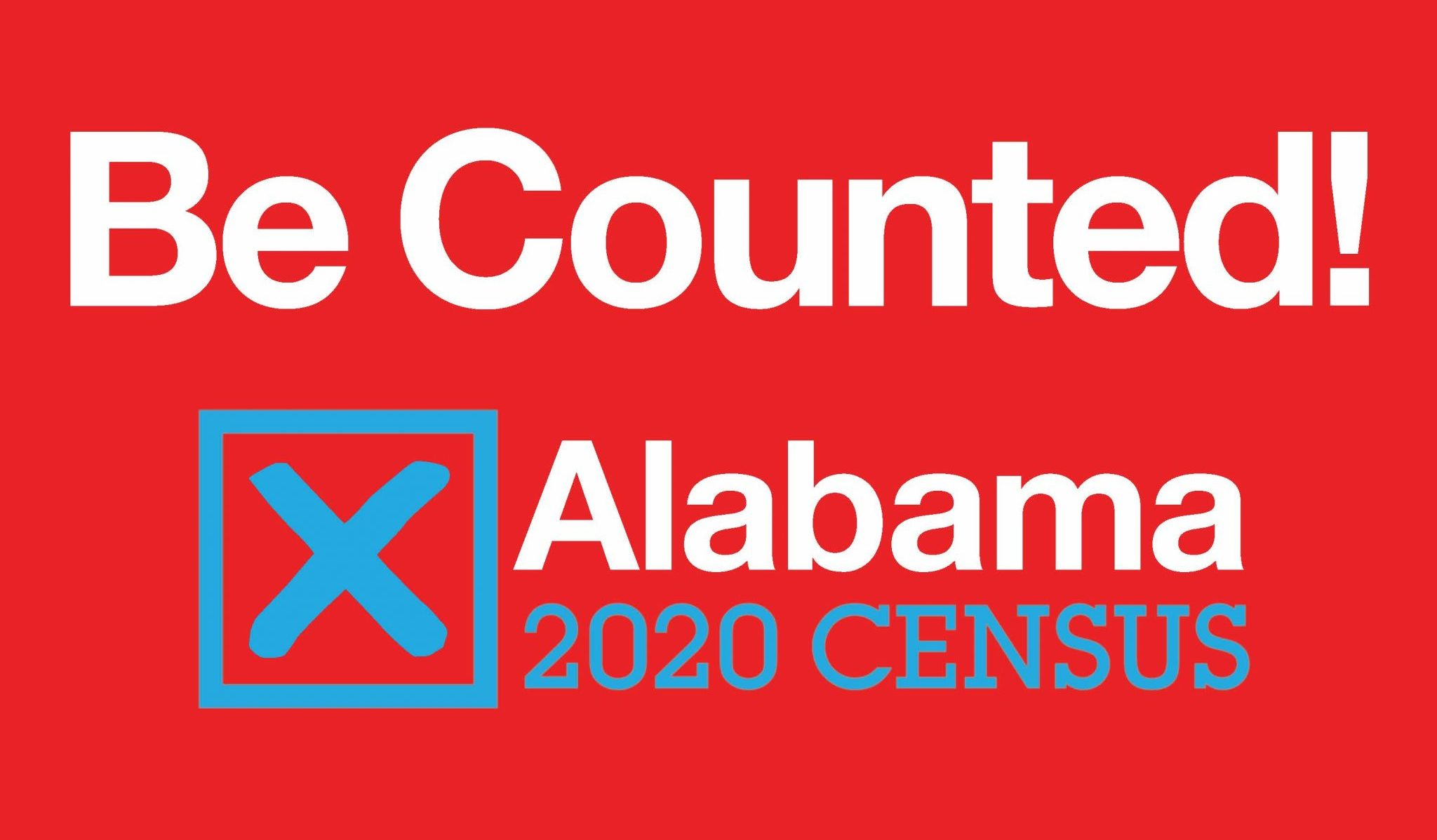 Be Counted! Alabama 2020 Census