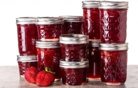 homemade jams and jellies