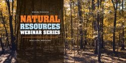 Natural Resources Webinar Series Every other Wednesday