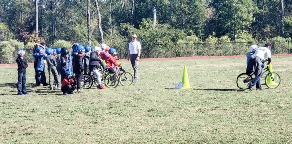 Students at local elementary schools in Jefferson County learn about the benefits of physical exercise.