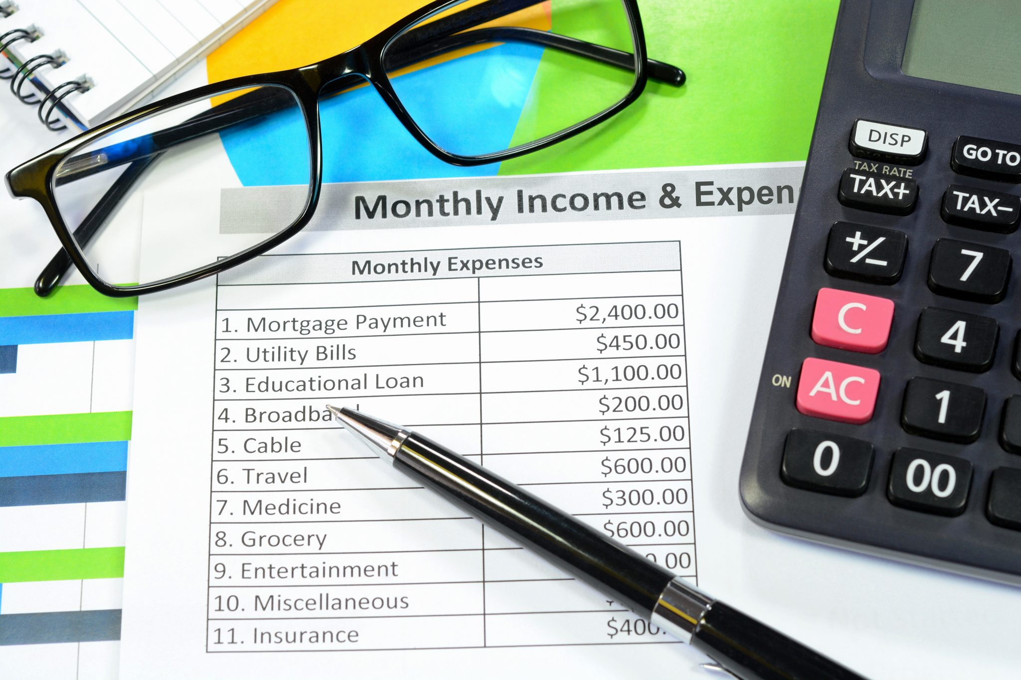 Monthly Expense Chart