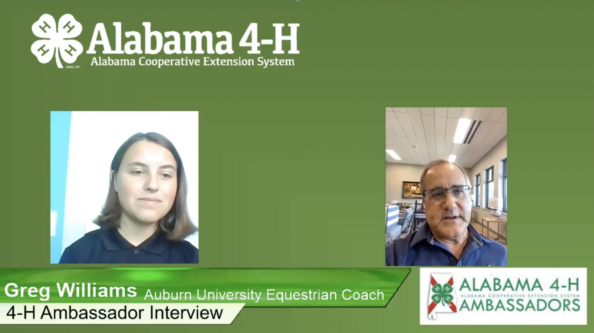 Interview with Auburn University Equestrian Coach Greg Williams