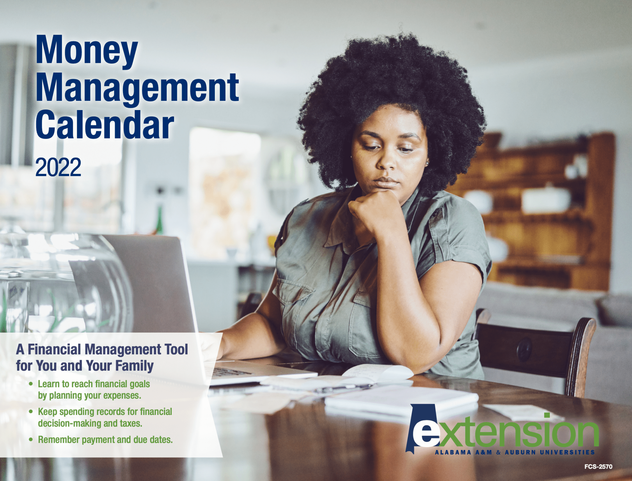 2022 Money Management Calendar. A Financial Management Tool for You and Your Family. Learn to reach financial goals by planning your expenses. Keep spending records for financial decision-making and taxes. Remember payment and due dates.