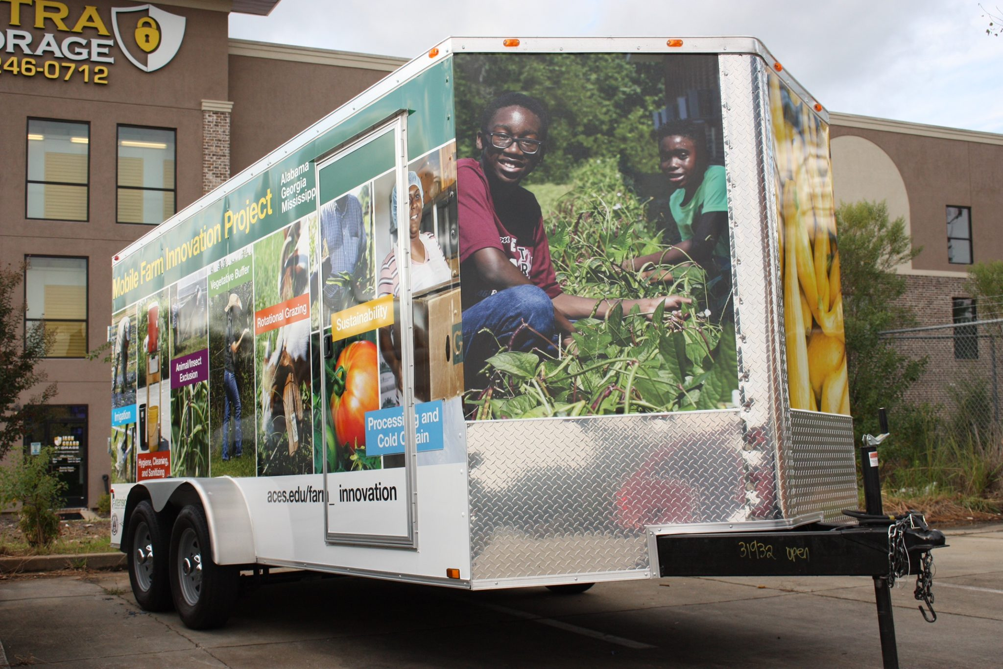 Mobile Farm Innovation Project trailer