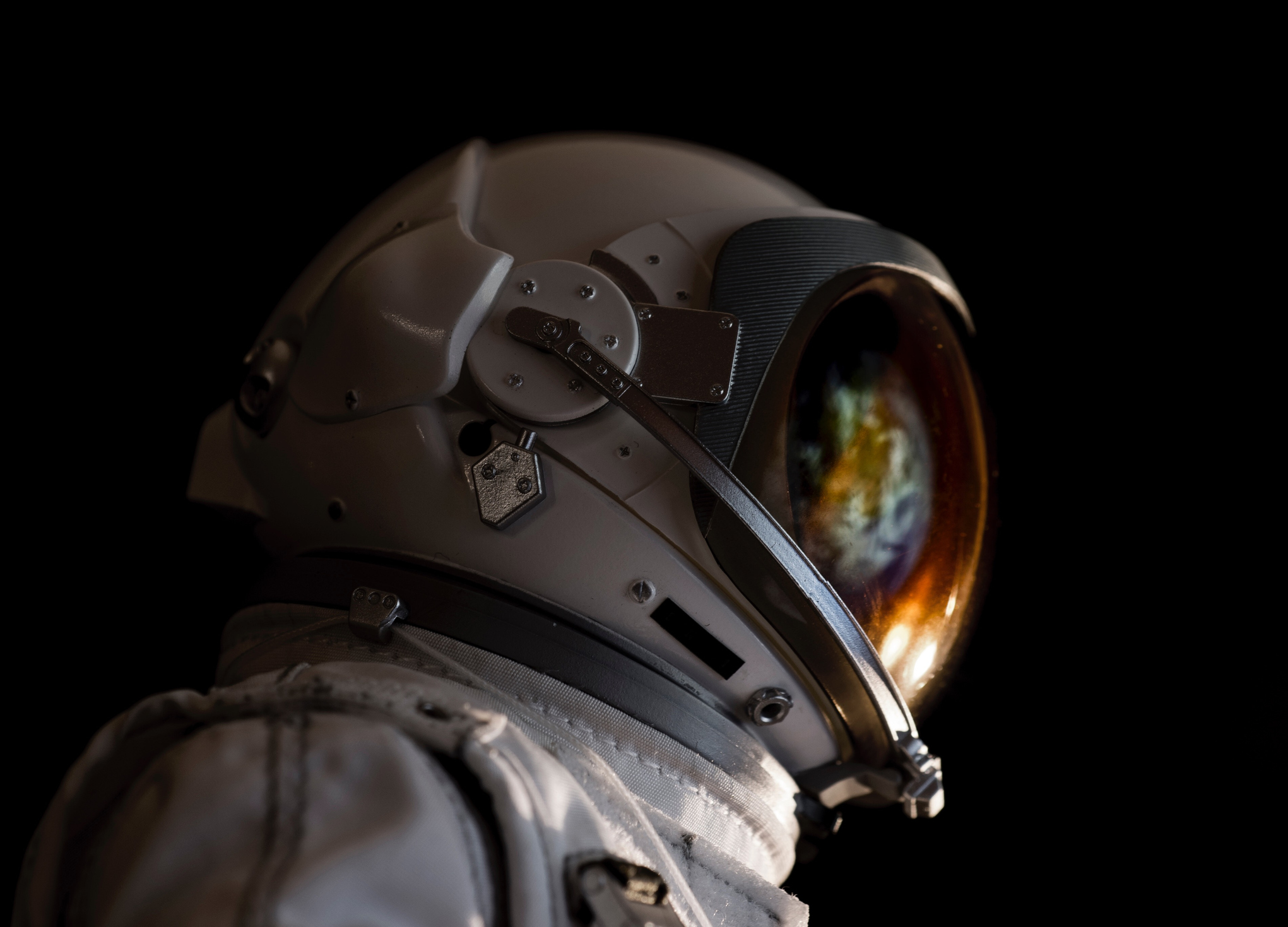 Close-Up Of Astronaut