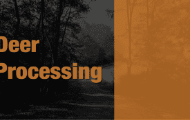 Deer Processing Title Card