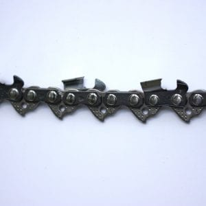 Figure 8. Parts of a chainsaw chain.