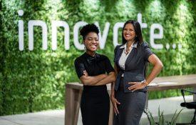 Two minority business women