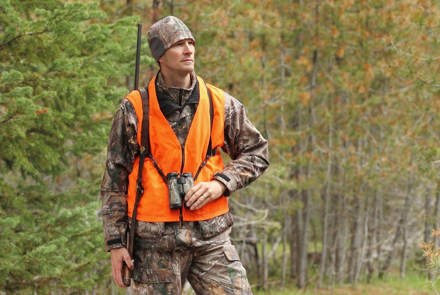 A deer hunter