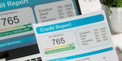Figure 1. Credit report. Stock image by scyther5.