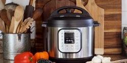 A modern pressure cooker