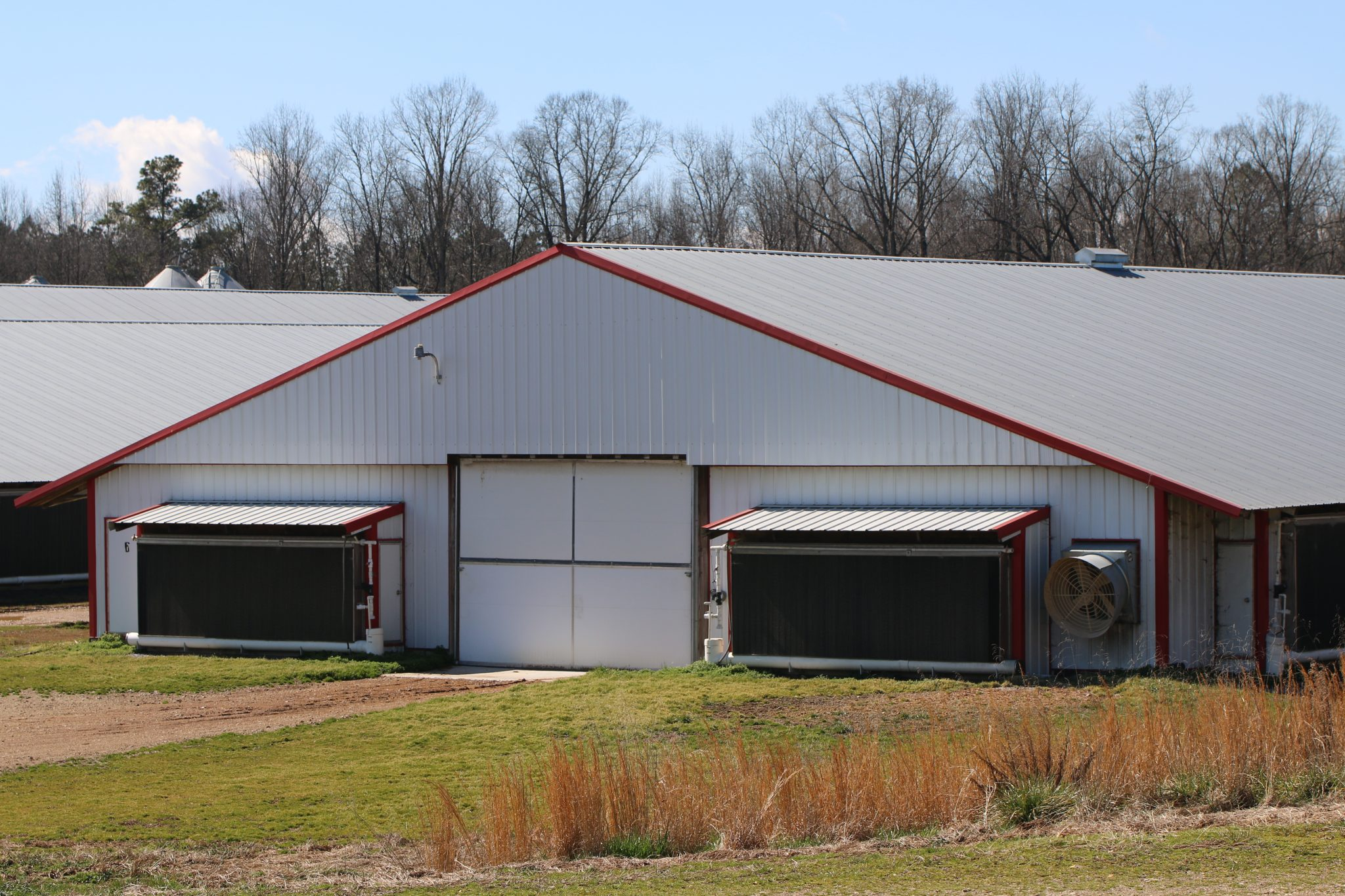 Poultry House Exterior