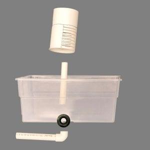 Photo 5. Plant tray components