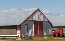 poultry house; poultry producers receive cares act funds