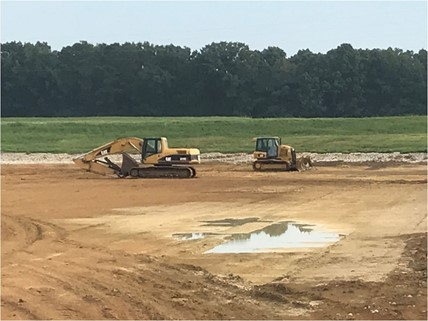 renovation of commercial catfish ponds
