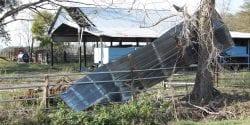 Hurricane Michael Damage to Barn