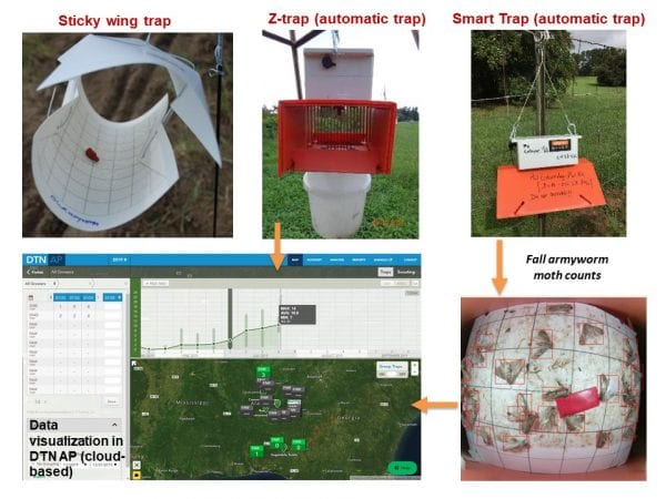 Figure 4. Automatic insect traps