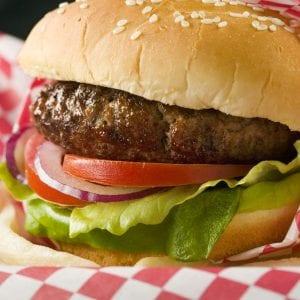 1 small fast-food hamburger 500 mg sodium