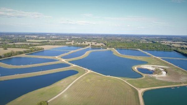 Figure 1. Catfish farming is an important enterprise in the Black Belt Region of West Alabama.