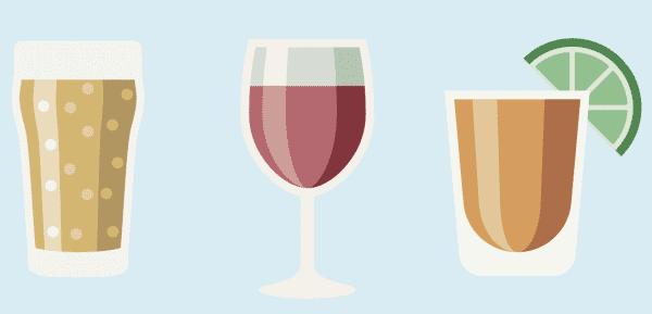 Illustrated beverages