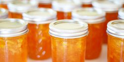 Peach Jam Jars
