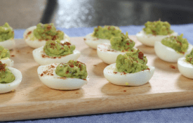 Avocado Party Eggs