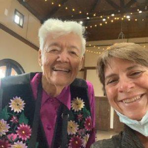 Mary Lou McNabb and REA Rhonda Britton 08-30-2021