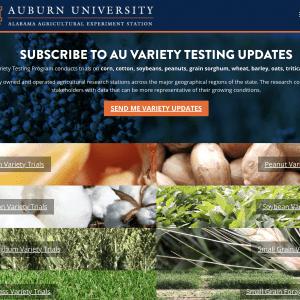 Auburn University Variety Testing Program subscription