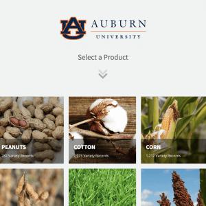 Auburn University Variety Trial Program database